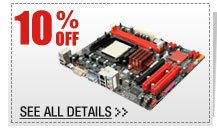 10% OFF SELECT AM3+ AMD Motherboards