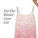 Dip Dye Beaded Cami