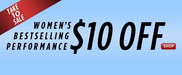 SHOP Bestselling Women's Performance!