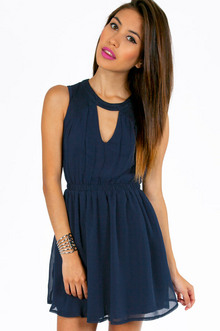 NECKED OUT SKATER DRESS 26