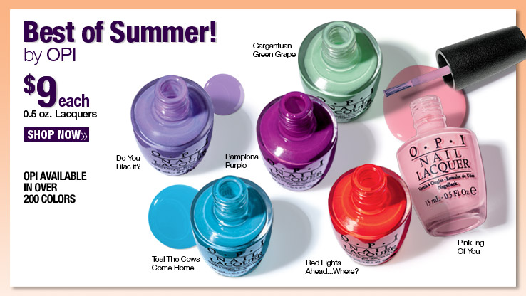 Best of Summer by OPI $9 each.