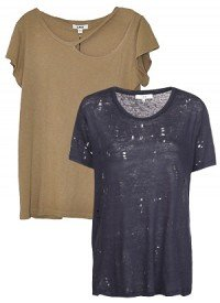 Trend To Try: Tattered Tees For Cool-Girl Style