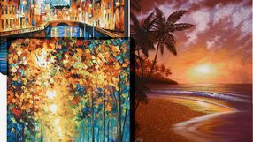 Limited Edition Art: Featuring Afremov and more