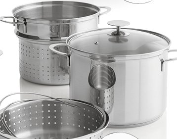 Stainless Steel 8-Qt. Multi-Cooker with  Lid $63.95 Reg. $79.95