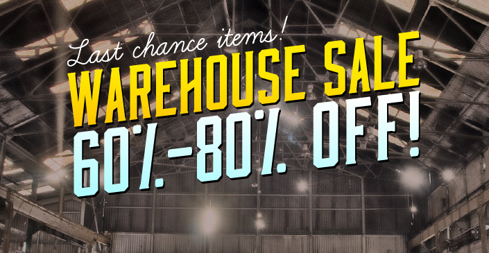 Click to shop the Ware House Sale - up to an extra 80% off!