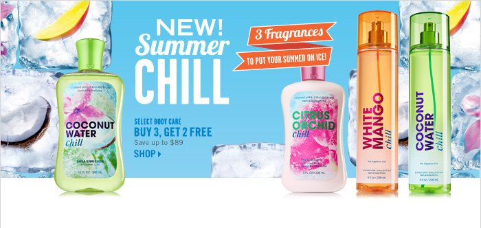 Select Body Care – Buy 3, Get 2 Free