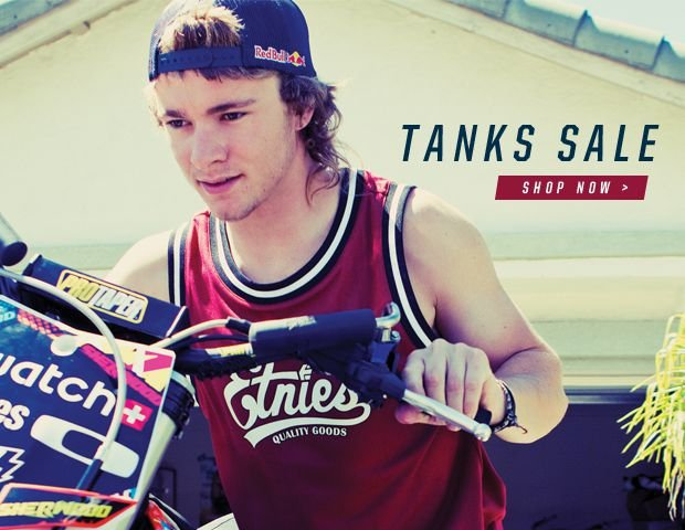 Tanks Now on Sale
