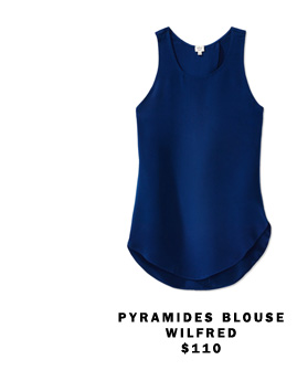 Pyramides Blouse