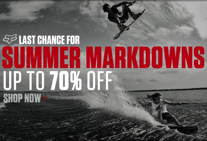 Last Chance for Summer Markdowns - Up to 70% Off