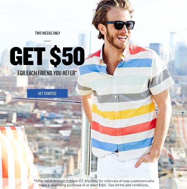Get $50
