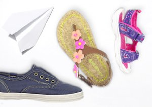 $12 & Up: Kids' Summer Shoes