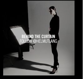 BEHIND THE CURTAIN - FOLLOW @HELMUTLANG