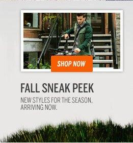 Fall Sneak Peek
