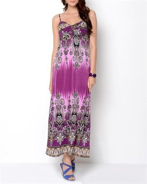 Just Love Printed Long Dress