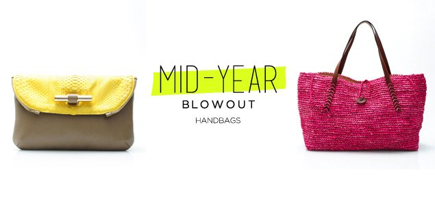 Mid-Year Blowout: Handbags