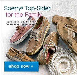 Sperry® Top-Sider for the Family Shop now.