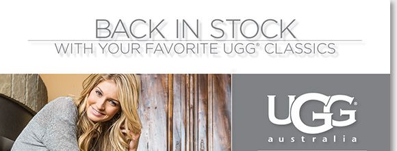 Shop the new UGG® Australia arrivals, we have the best new styles for year round comfort! Find tried and true classics like the Classic Tall, Classic Short, and Dakota slippers in fresh new colors and styles for the season ahead. Find the best selection online and in-stores at The Walking Company.