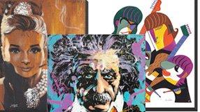 Limited Edition Pop Culture Art: Featuring Fishwick, Garibaldi & more