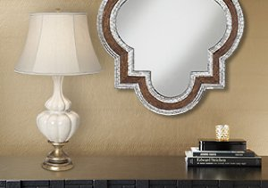 Moroccan Inspired Lamps & Mirrors