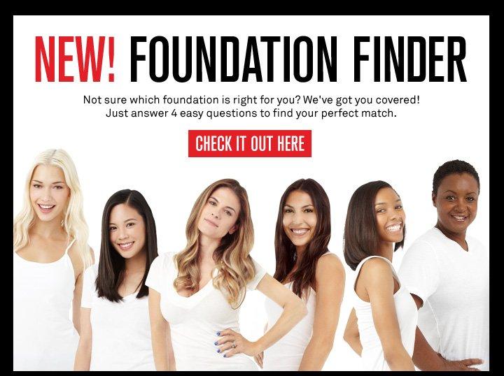 New! Foundation Finder