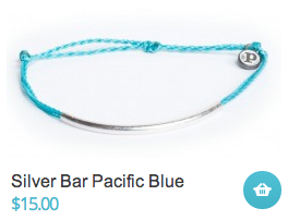 Silver Bar Pacific Blue