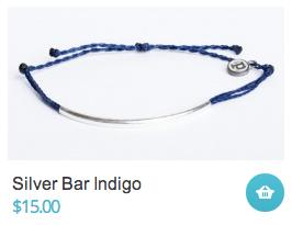 Silver Bar Indigo