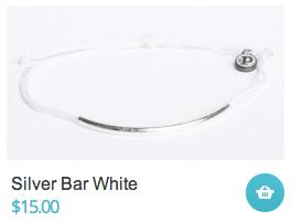 Silver Bar White