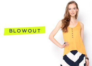 Mid-Year Blowout: Women's Apparel Blowout: Tops