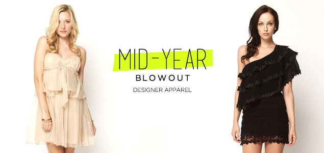 Mid-Year Blowout: Designer Apparel For Her