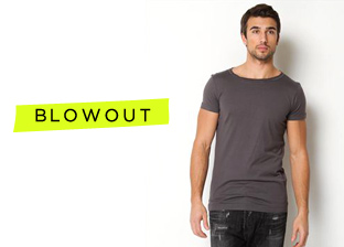 Mid-Year Blowout: Designer Apparel Blowout For Him