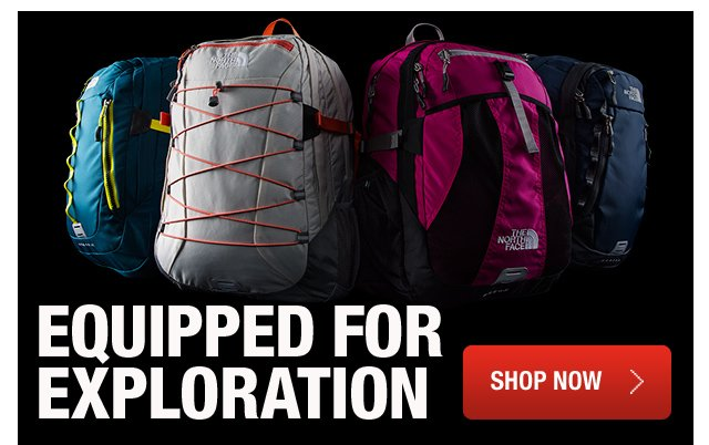 EQUIPPED FOR EXPLORATION SHOP NOW