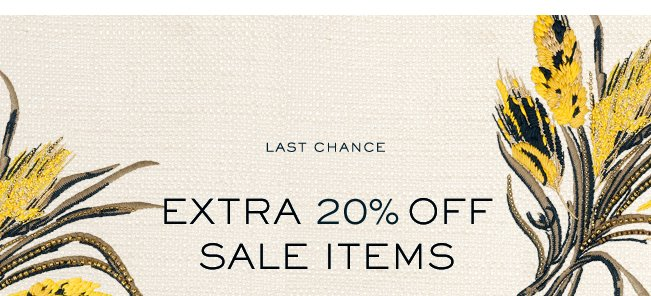 THIS WEEKEND ONLY EXTRA 205 OFF SALE ITEMS