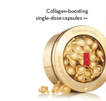 Collagen-boosting single-dose capsules.