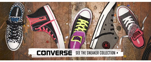 CONVERSE: See the sneaker collection