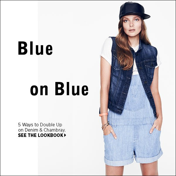 Denim and Chambray are better together! See 5 inspired ways to wear them in our latest lookbook. Shop now >>