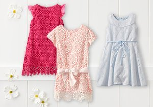 $9 & Up: Girls' Lace Styles