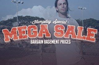 Mega Sale: Bargain Basement Prices