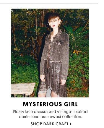 Mysterious girl - Shop Dark Craft