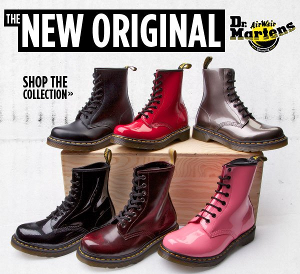 Patent Pending: Shop New Styles from Dr. Martens!