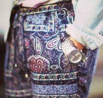 Shop print pants