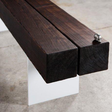 Burnt Bench