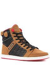 The Paradiso Sneaker in Brown & Black
