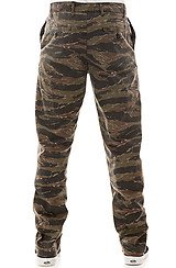 The 4 Pocket Slim Fit Chinos in Tiger Camo