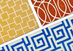 A Geometric Home: Dalyn Rugs