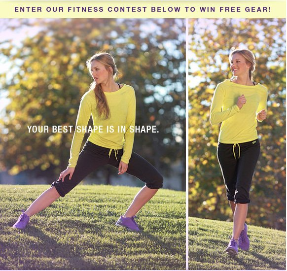 Enter Our Fitness Contest Below to Win Free Gear!