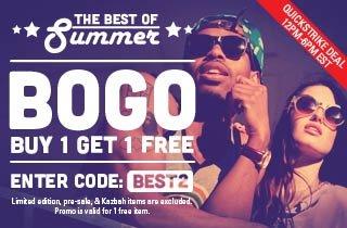 Best of Summer: Buy 1, Get 1 Free