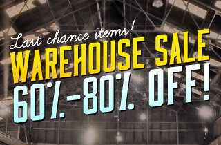 60-80% Off Last Chance Items