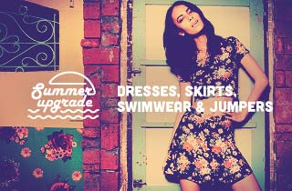 Dresses, Skirts, Swim & Jumpers