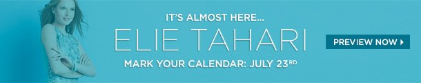 Elie Tahari Collection Starts July 23rd