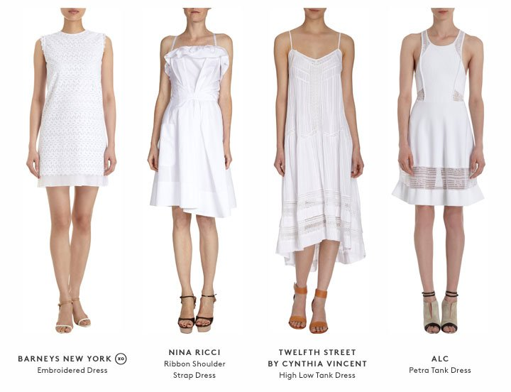 The little white dress, made new: Shop new arrivals now!